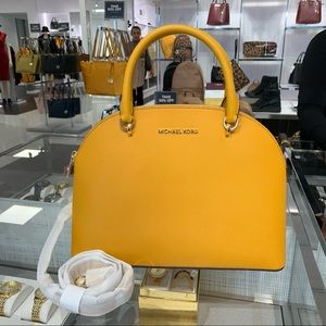 Michael Kors Emmy Large Dome Satchel